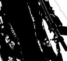 Black and white Tyler Sticker
