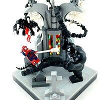 Spidy vs. Venom by Ryan Rydalch