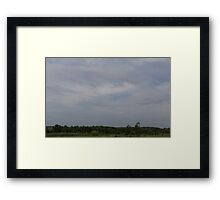 HDR Composite - Iron Sky Framed Print
