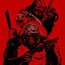 Guerrilla Gorillas Red by Paramo