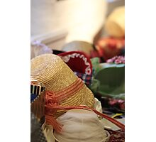 All kinds of hats Photographic Print