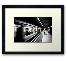 High speed clean up  Framed Print