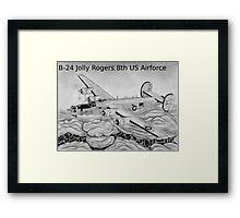 B-24 Framed Print
