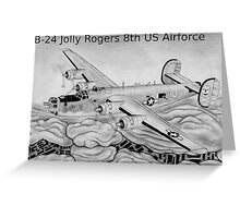 B-24 Greeting Card