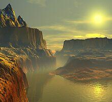 Desert Sunrise by AlienVisitor