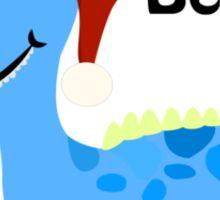 Believe! Santa Nessie Sticker