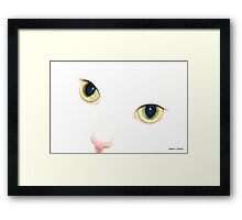Can You See Me Now...? Framed Print
