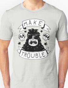 Make trouble - anarchy gorilla T-Shirt