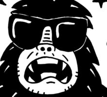 Make trouble - anarchy gorilla Sticker