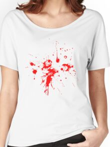 Blood Splash Women's Relaxed Fit T-Shirt