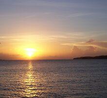 Sunset in the Islands by bjsmithpratt