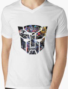 Autobot logo Mens V-Neck T-Shirt