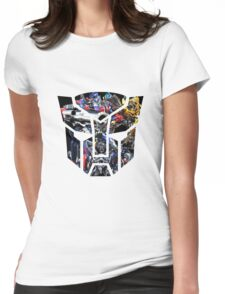Autobot logo Womens Fitted T-Shirt