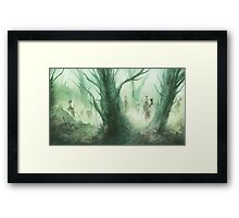 The Dead Come Framed Print