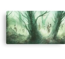 The Dead Come Canvas Print