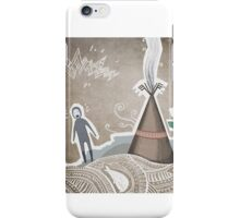 snow field  iPhone Case/Skin