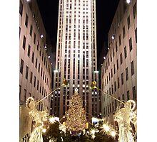 Rockefeller Centre Angels Photographic Print