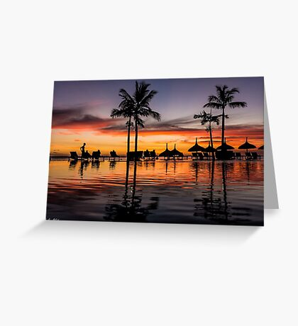 Glorious Days End Greeting Card