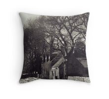 Cawdor Post Office Throw Pillow
