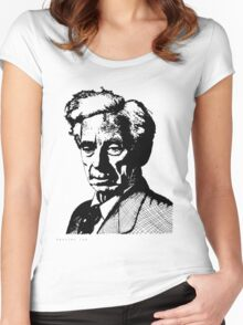 Bertrand Russell Women's Fitted Scoop T-Shirt