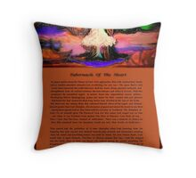 Tabernacle Of The Heart [with story] Throw Pillow