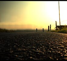 Looking down the road of life by Rowan  Lewgalon