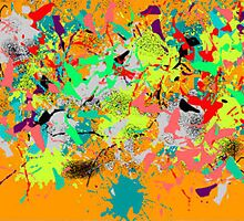(TWO MED BRIDGE ) ERIC WHITEMAN  ART  by eric  whiteman