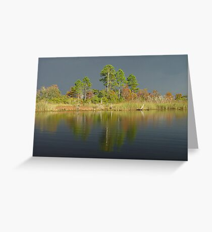 The Five Pines before the Storm Greeting Card