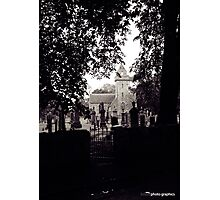 Cawdor Kirk (from the shadows) Photographic Print