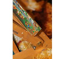 Abstract of a artists easel  Photographic Print
