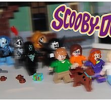 LEGO Scooby Doo! by Ryan Rydalch