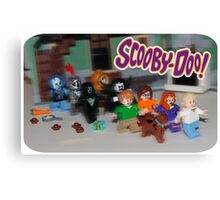 LEGO Scooby Doo! Canvas Print