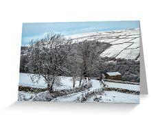 Walking In A Winter Wonderland Greeting Card