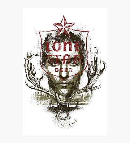 The Lone Star Photographic Print