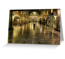 Tiled Reflections Greeting Card