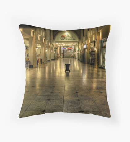 Tiled Reflections Throw Pillow
