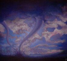 Twin Twisters (2007) by John Martin Sain