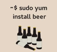 Linux sudo yum install beer by boscorat