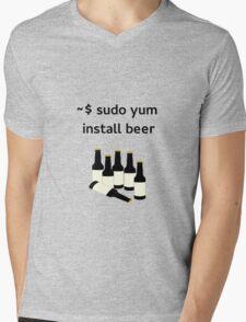 Linux sudo yum install beer T-Shirt