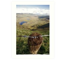 Clouds over the Conor Pass Art Print