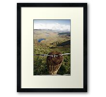 Clouds over the Conor Pass Framed Print