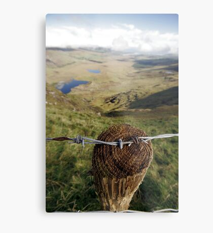 Clouds over the Conor Pass Metal Print