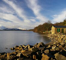 The Boathouse, Balloch Park, Loch Lomond by Susan Dailey