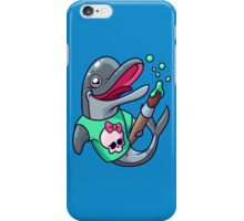 Artistic Dolphin 2 iPhone Case/Skin