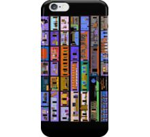 Maniac Mansion rooms iPhone Case/Skin