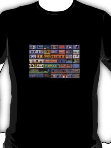 Maniac Mansion rooms T-Shirt