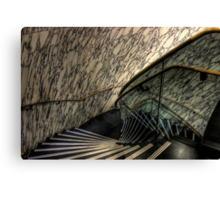 The Marble Staircase Canvas Print