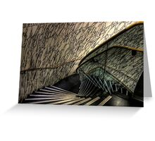 The Marble Staircase Greeting Card