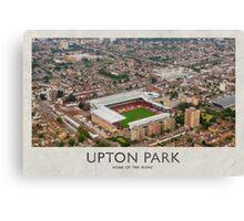 Vintage Football Grounds - Upton Park (West Ham United FC) Canvas Print