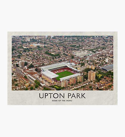 Vintage Football Grounds - Upton Park (West Ham United FC) Photographic Print